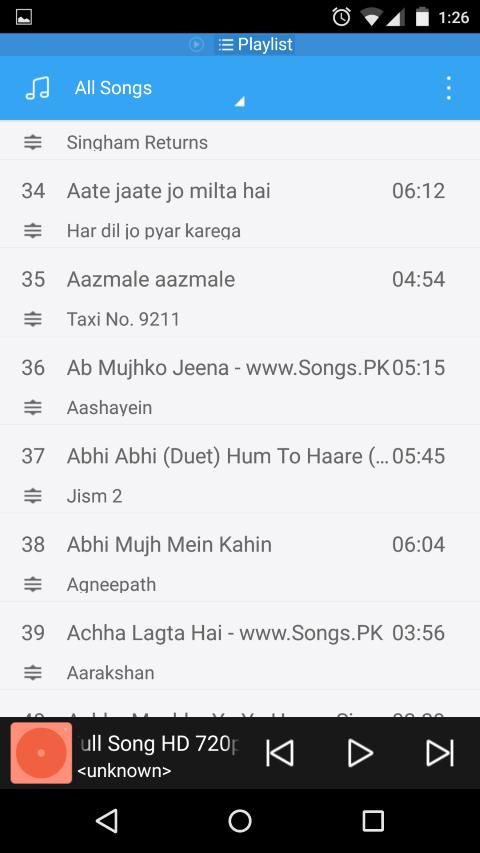 Music Player files