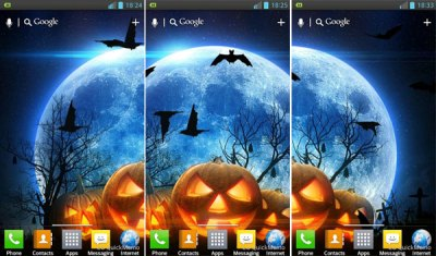 Free Halloween Android Live Wallpapers - [Animated]