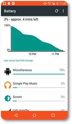 Battery problem in Android lollipop image
