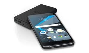 BlackBerry DTEK50 with powerbank
