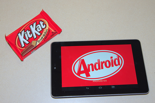 Android Kitkat shows 1.1 percent distribution in latest Google update