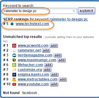 SERP-chrome-extension