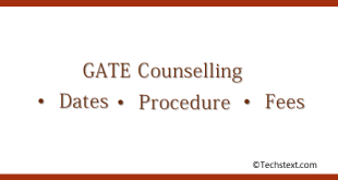 Gate Counseling – Dates, Procedure, Fees