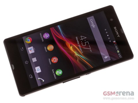 Sony Xperia Z Front Design
