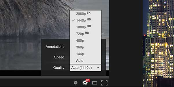 YouTube Supports 5K Video