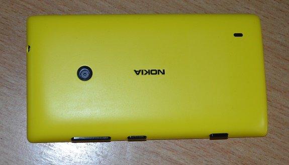 Lumia 520 back