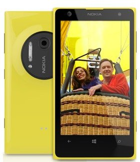 Nokia Lumia 1020 on AT&T available for $50 with 2-year Contract