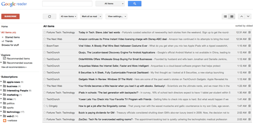 Google-Reader-new-look
