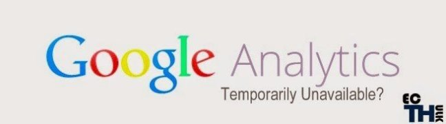temporarily unavailable google analytics