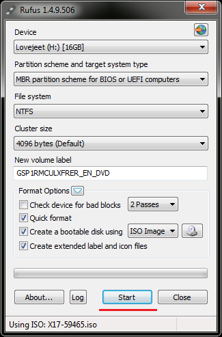 click-on-start-to-create-a-bootable-usb-flash-drive