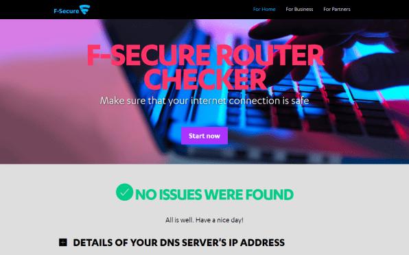 fsecure-router-checker