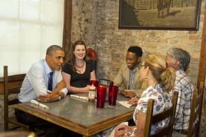Obama at Stubbs