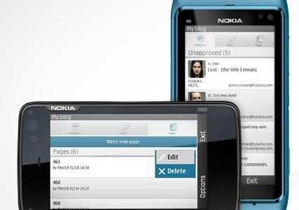 wordpress for nokia