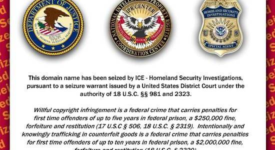 Domain Seized