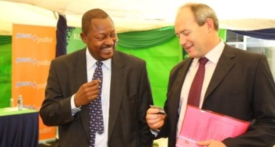 Dr. Martin Otieno Odour, Bernard Matthewman