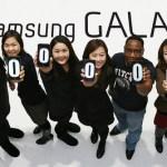 Samsung Galaxy 100 million