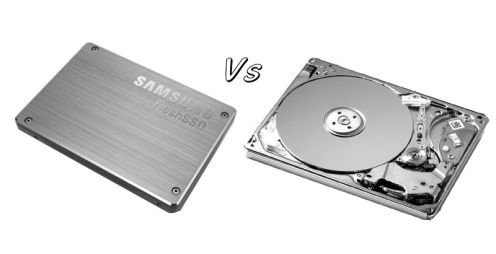 SSD vs HDD Storage