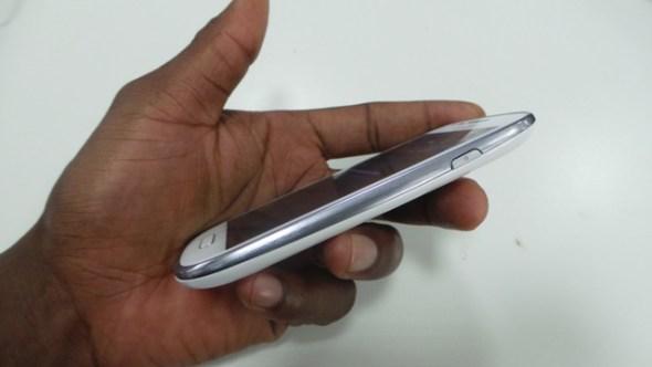 Galaxy S III mini side