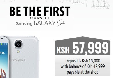 Safaricom Galaxy S 4 pre-order