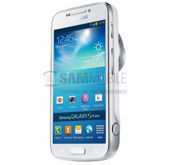 Galaxy S4 Zoom Press Shot and Live Photos already out