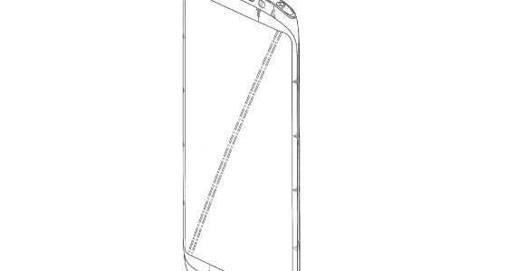 Galaxy Note III patent design