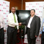 LG donates 10 digital signage screens for Flight information at JKIA