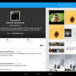 Twitter for Android Tablet Version App Leaks