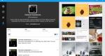 Twitter optimized tablet app