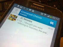 Blackberry Messenger BBM for Android echenze