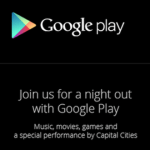 google play event invite october 24th