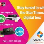 You can now get your StarTimes Set Top Box delivered at your house