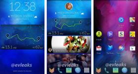 Samsung new smartphone UI