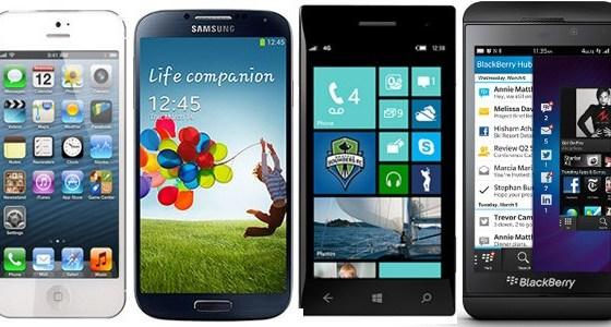Smartphones shipments