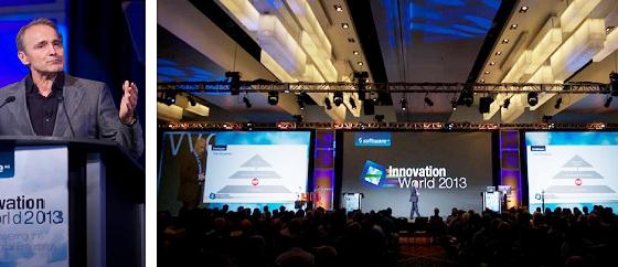 Karl-Heinz Streibich (CEO Software AG) at Innovation World 2013