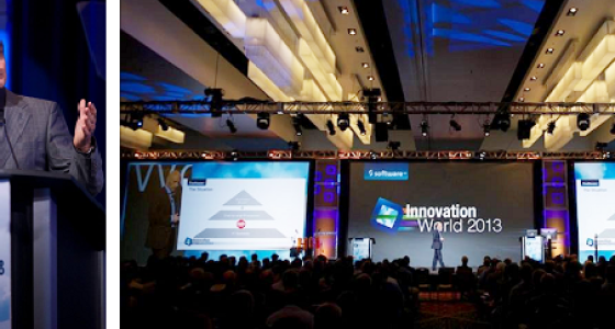 Karl-Heinz Streibich (CEO Software AG) at Innovation World 2013