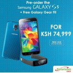Safaricom opens pre-orders for Galaxy S5; to go for just Ksh 74,999