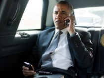 Barrack Obama Blackberry