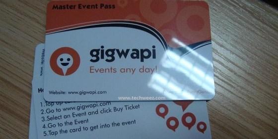 Gigwapi Card