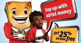 Airtel Money Bonus 25