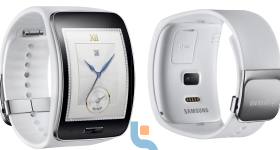 Samsung gear S Pure White