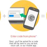 Google's Two Step Verification Method