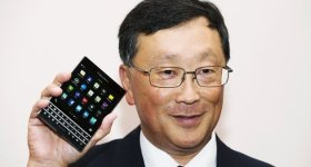 Blackberry Passport John Chen