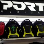 Port motorcycle backpacks