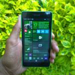Lumia 535 has a 5 inch screen