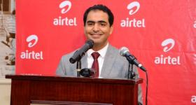 Airtel Kenya's CEO Adli El Youssefi during the launch