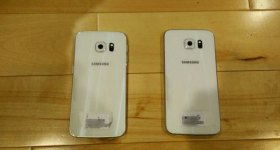 galaxy s6 and galaxy s6 edge leaked photo