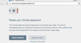 Password Alert by Google