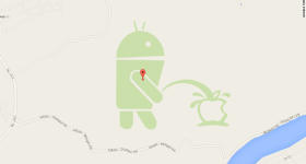 Android-pees-on-Apple-Google-Maps