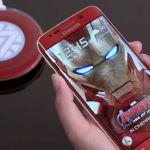 Samsung S6 Edge Iron Man