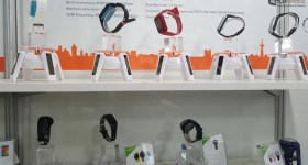 Smartwatches on display